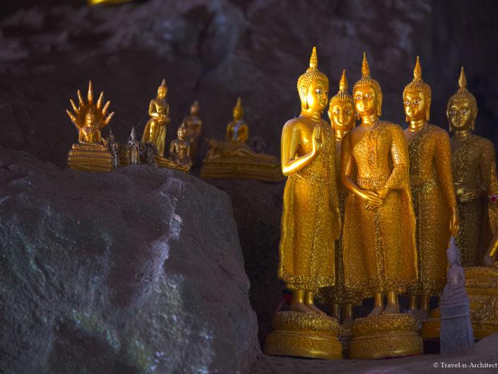 Laos – Luang Prabang – Pak Ou Caves & Khuang Si Waterfalls