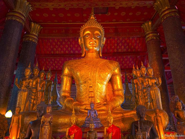 Laos –  Luang Prabang – Temples & Khuang Si Waterfalls