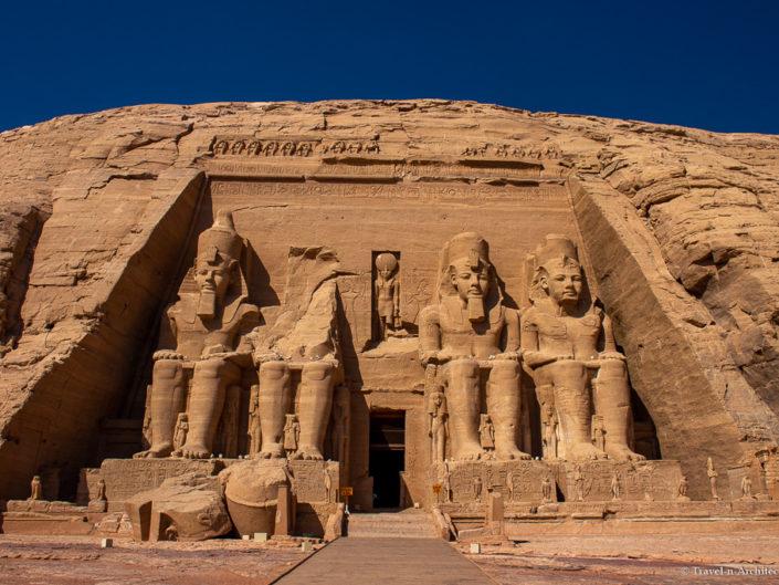 Egypt-Abu Simbel-Temple of Ramses II & Nefertari