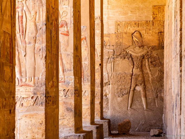 Egypt – Abydos – Temple of Osiris