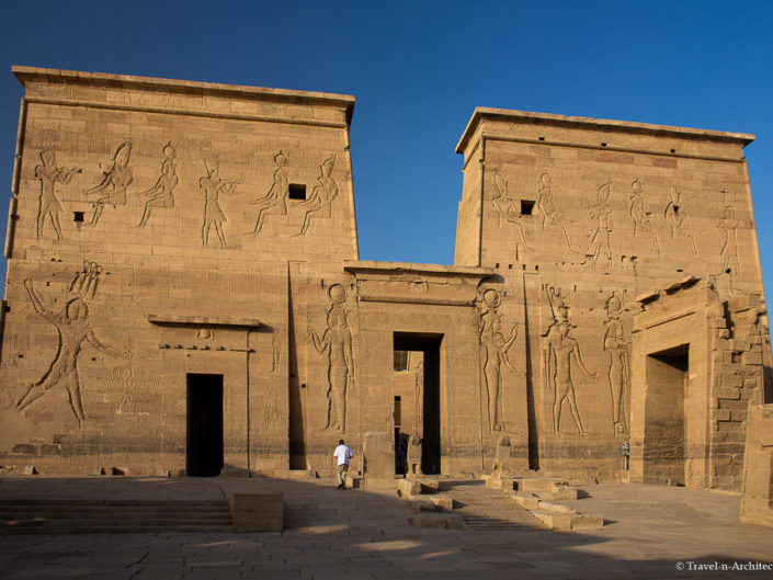 Egypt –  Philae – The Temple of Isis