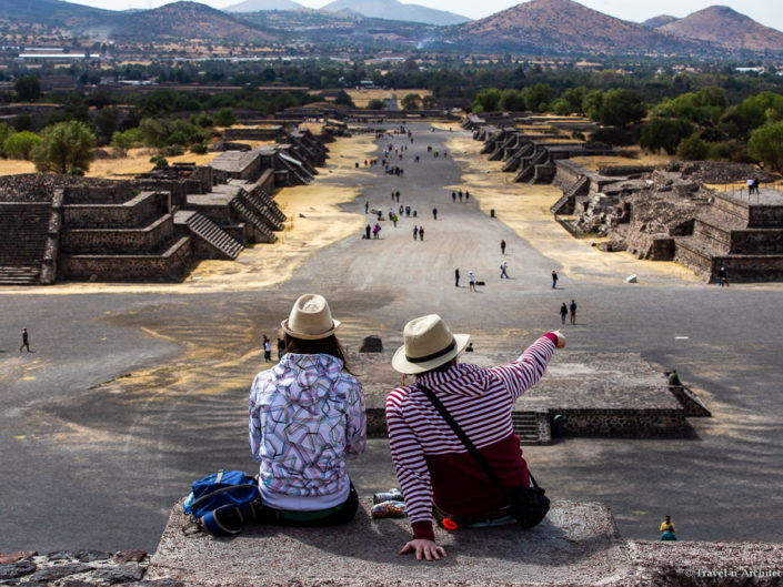 Mexico Gallery 02 – Teotihuacan – Moon & Sun Pyramids