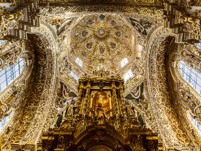 Mexico Gallery 03 – Puebla – Church of Santo Domingo
