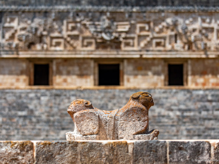 Mexico Gallery 15 – Uxmal – Palace-Jaguar-Turtles