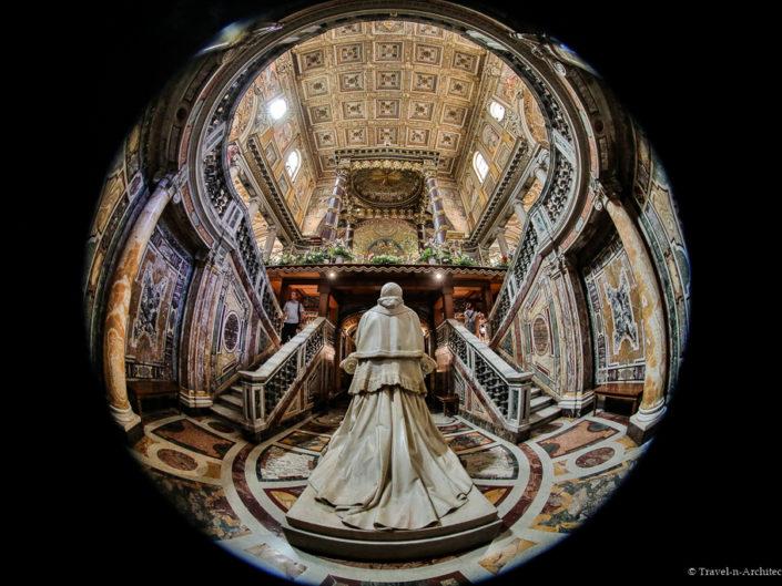 Italy-Rome-Basilica of Santa Maria Maggiore