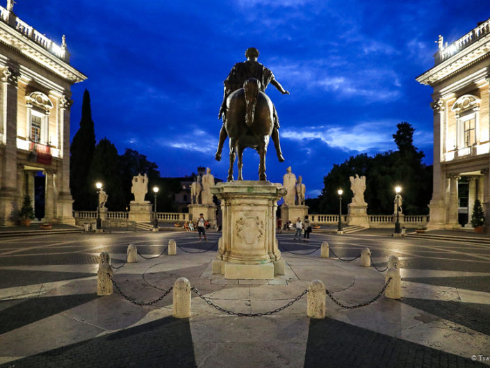 Italy-Rome-Capitoline Hill