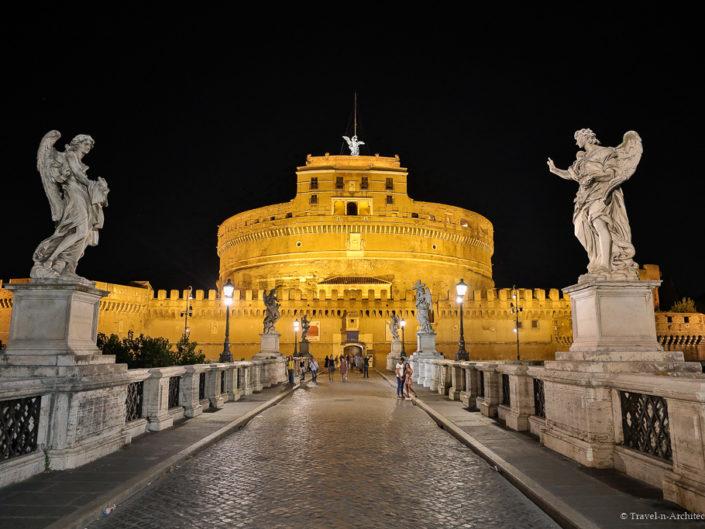 Italy-Rome- Castel Sant`Angelo