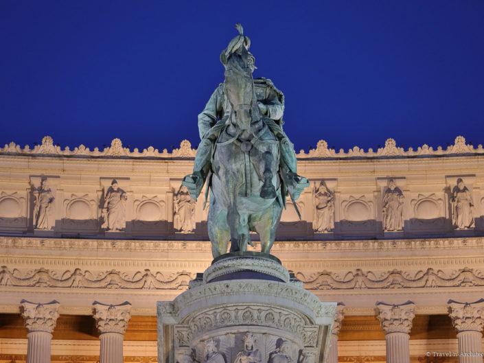 Italy-Rome-Monument of Vittorio Emanuele II