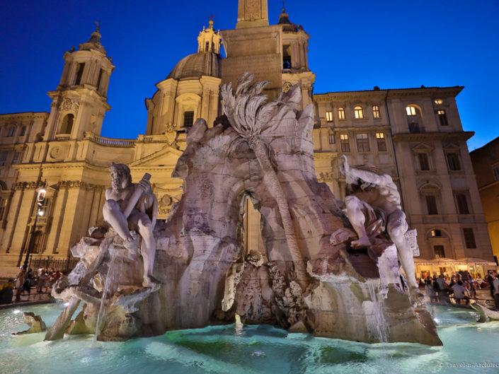 Italy-Rome-Piazza Navona