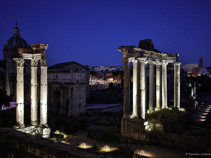 Italy-Rome-Roman Forum