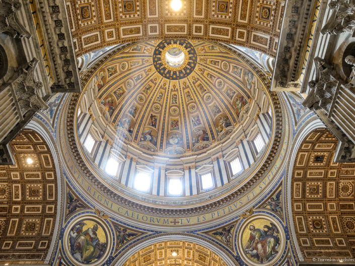 Vatican-Rome-St. Peter`s Basilica Interior
