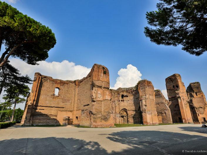 Italy-Rome-Baths of Caracalla