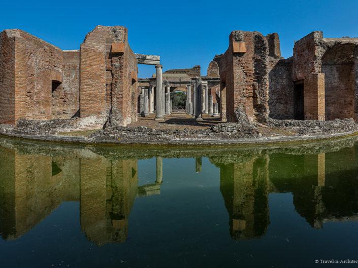 Italy-Rome-Tivoli-Hadrian`s Villa  & Villa d`Este