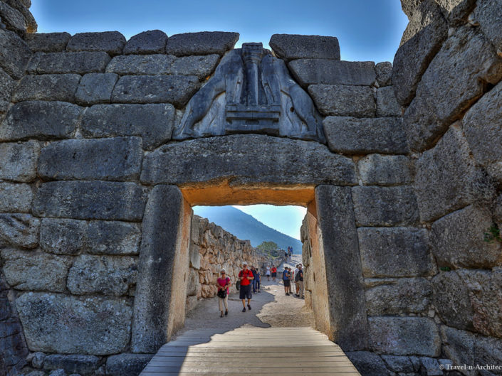 Greece-Citadel of Mycenae-The Lion Gate