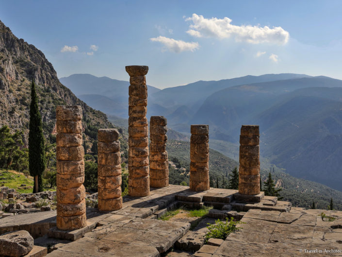 Greece-Delphi-Archaeological Site & Museum