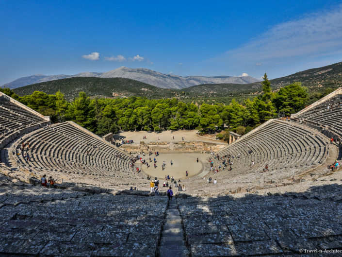 Greece-Epidaurus-Ancient Theatre