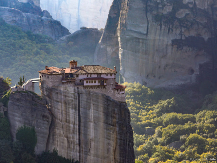 Greece-Meteora-Monastery of Roussanou