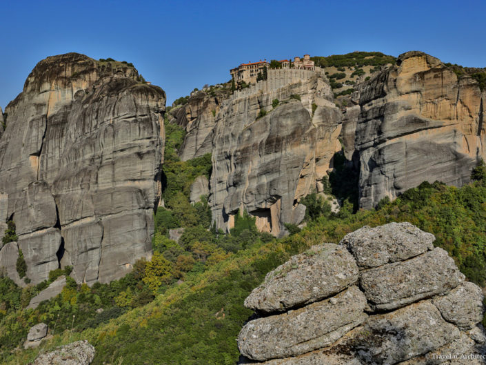 Greece-Meteora-Monastery of Varlaam