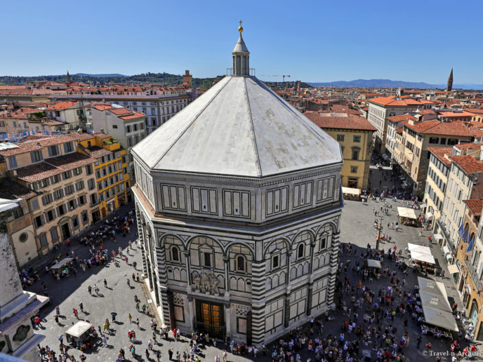 Italy-Florence-Baptistry of San Giovanni