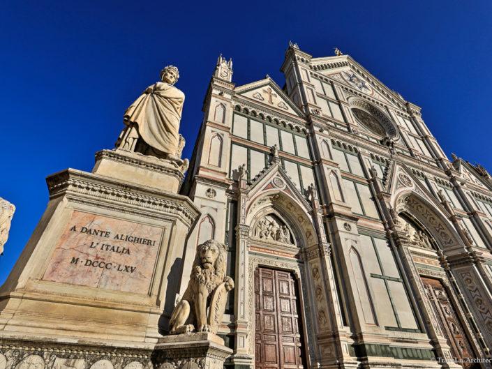 Italy-Florence-Basilica di Santa Croce