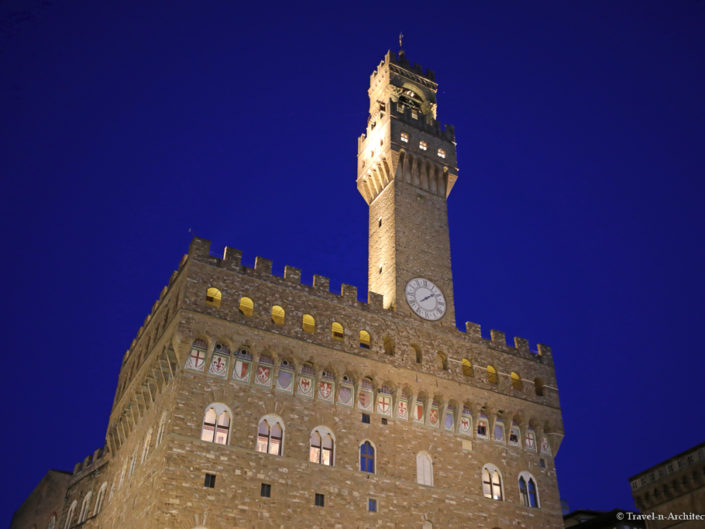 Italy-Florence-Palazzo Vecchio & Tower of Arnolfo