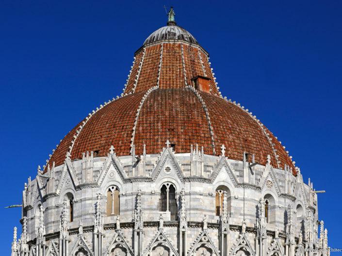 Italy-Pisa-Baptistery of St. John