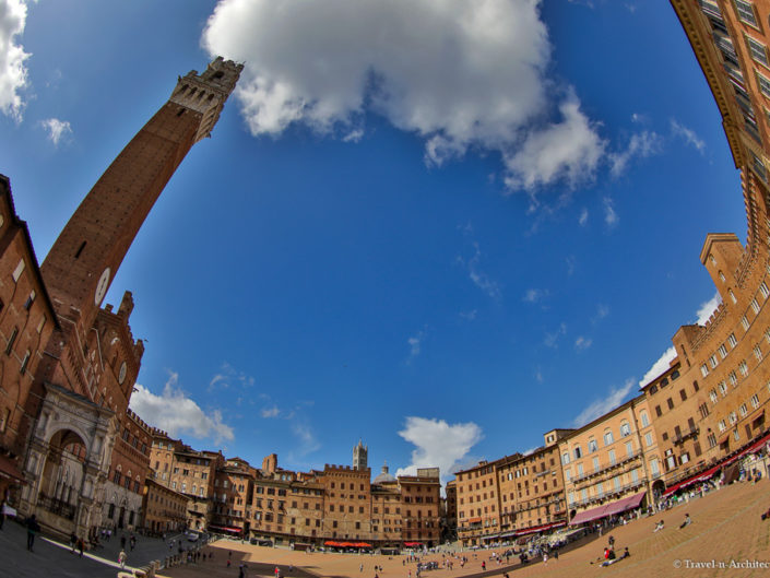 Italy-Siena-Historic Centre-Piazza del Campo