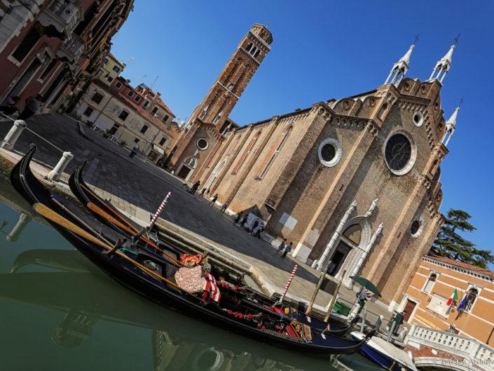 Italy-Venice-Basilica di Santa Maria Gloriosa dei Frari