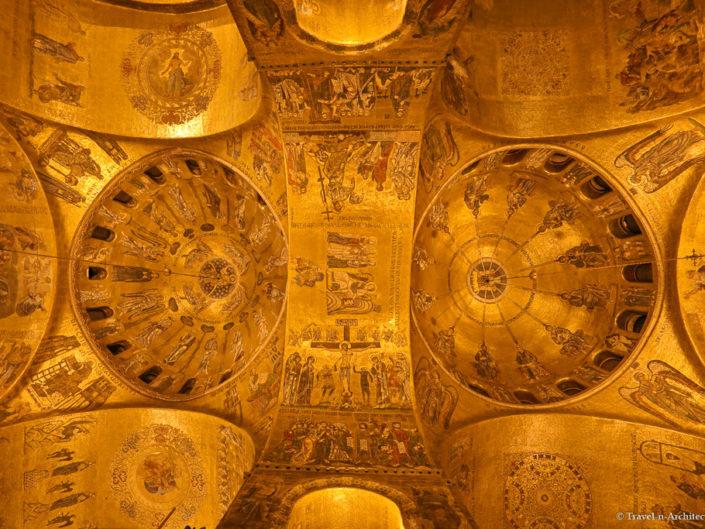 Italy-Venice-St. Mark`s Basilica-Interior
