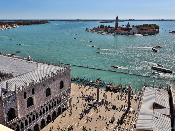 Italy-Venice-Viewpoint St Mark' s Campanile