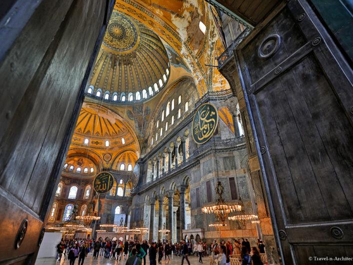 Turkey-Istanbul-Hagia Sophia