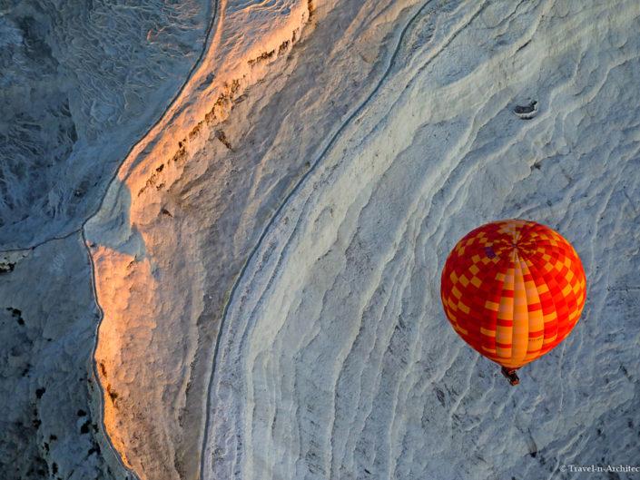 Turkey-Pamukkale-Hot Air Balloon Flight at Sunrise