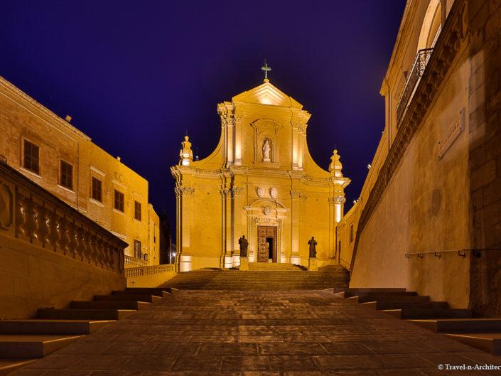 Malta II-Gozo-Victoria-Cittadella-Evening