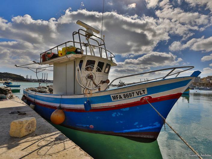 Malta II-Marsaxlokk-Fishing Village
