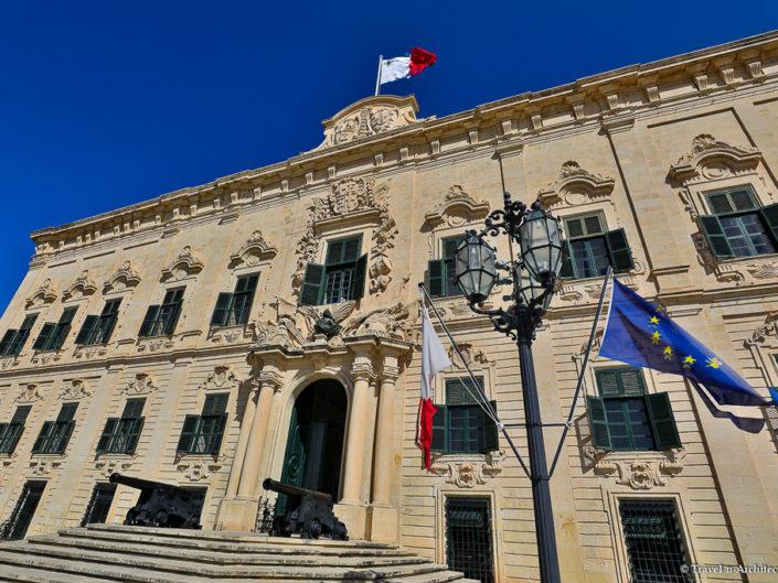 Malta II-Valletta-Auberge de Castille