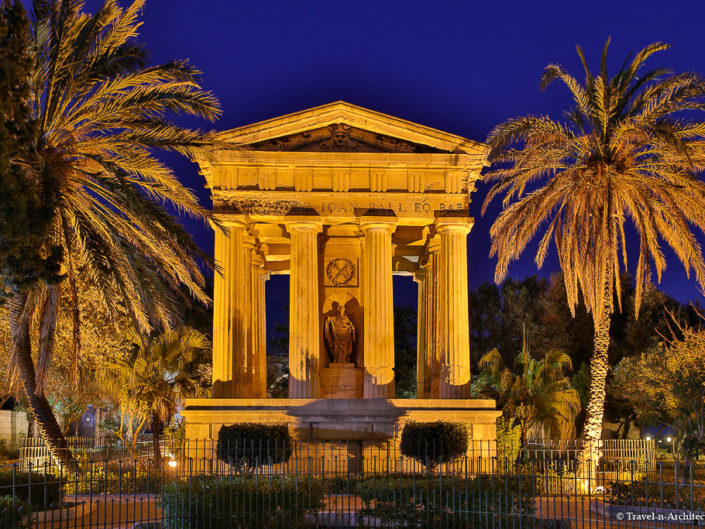 Malta II-Valletta-Lower Barrakka Gardens