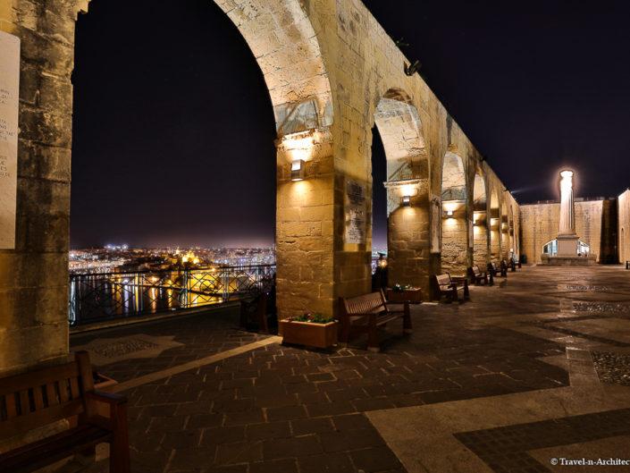 Malta II-Valletta-Upper Barrakka Gardens