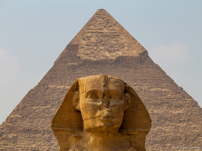 Egypt – Giza – Pyramids and the Great Sphinx