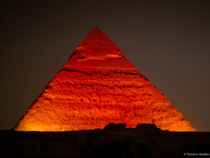 Egypt – Giza – Pyramids – Sound and Light Show