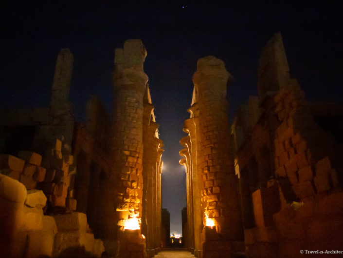 Egypt – Karnak – Temple of Amun – Night