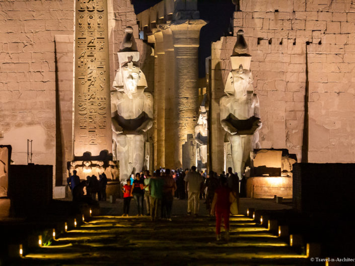 Egypt – Luxor Temple at Night