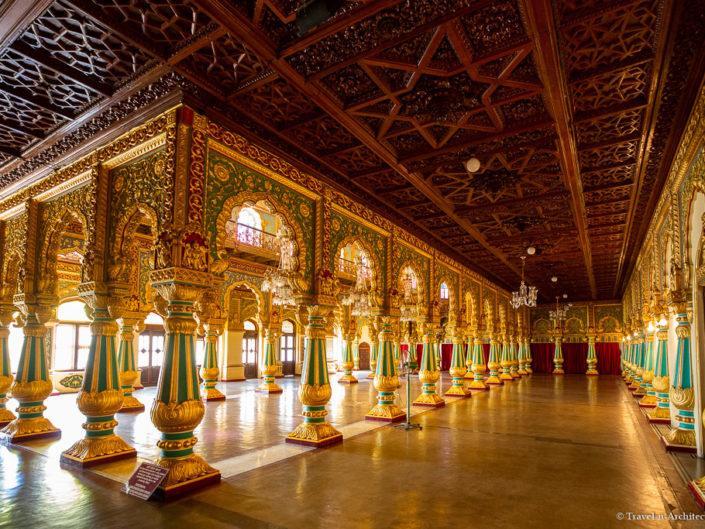 India III Gallery 16 – Mysore Palace or Amba Vilas