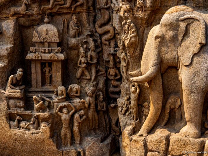 India III Gallery 12-Group of Monuments at Mahabalipuram