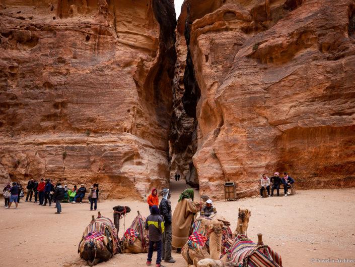 Jordan – Gallery 02 – Petra – Al Siq and Facades Street