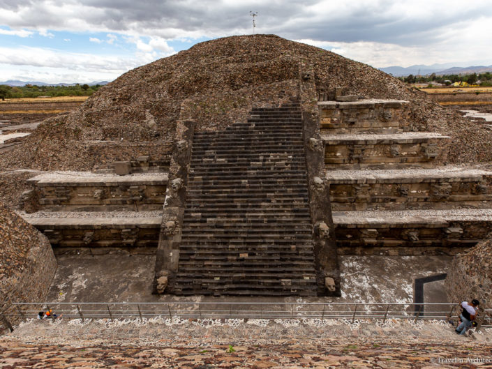 Mexico Gallery 19 – Teotihuacan – Temple of Quetzalcoatl