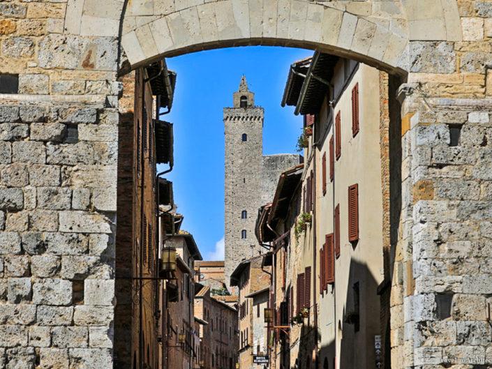 Italy-San Gimignano-World Heritage Site