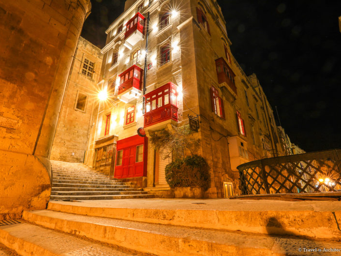 Malta II-Valletta-Limestone Architecture