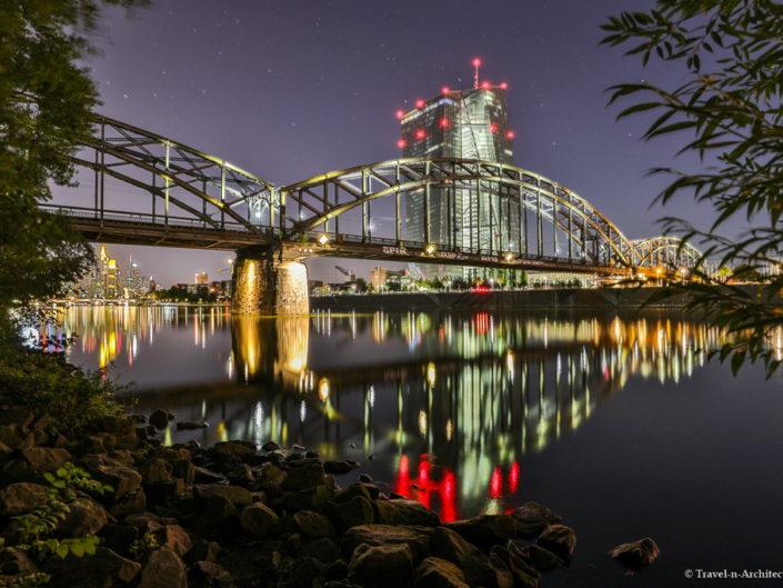 Frankfurt-EZB and Riverside
